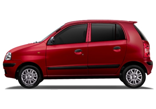 Hyundai Santro Red Color Pictures