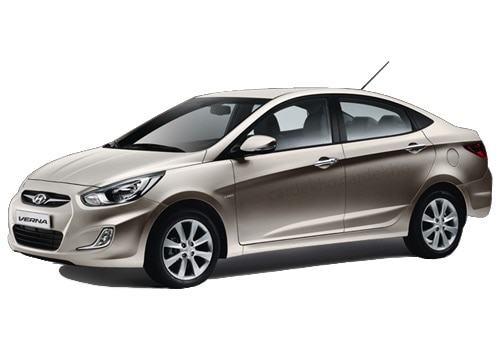 Hyundai Verna Fluidic Stone Beige Color