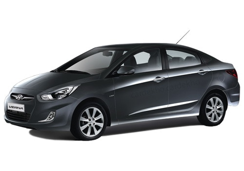Hyundai Verna Fluidic Phantom Black Color