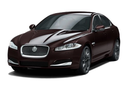 Jaguar XF British Racing Green Color