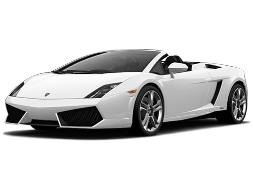 Lamborghini Gallardo White Color Pictures