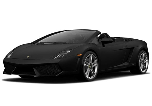 Lamborghini Gallardo Black Color Pictures