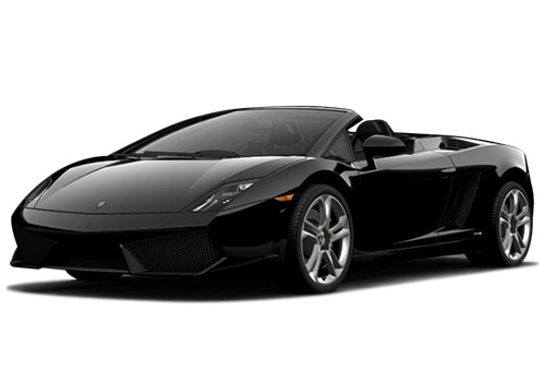 Lamborghini Gallardo Nero Color Pictures