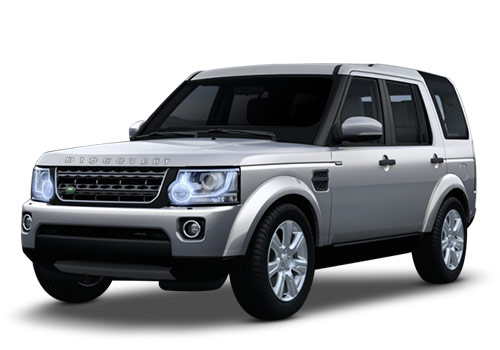 Land Rover Discovery 4 Indus Silver Metallic Color
