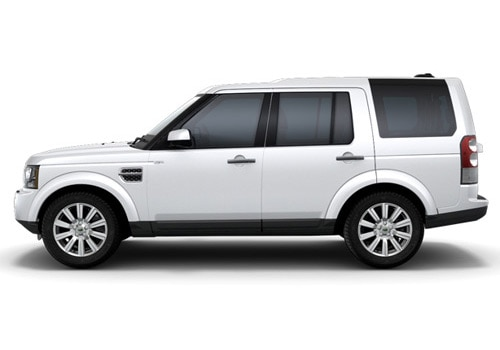 Land Rover Discovery 4 White Color Pictures