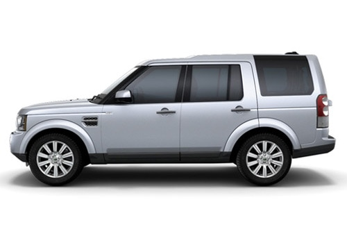 Land Rover Discovery 4 Silver Metallic Color Pictures