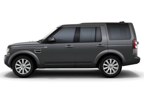 Land Rover Discovery 4 Grey Metallic Color Pictures