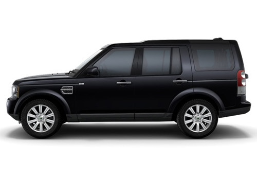 Land Rover Discovery 4 Black Metallic Color Pictures