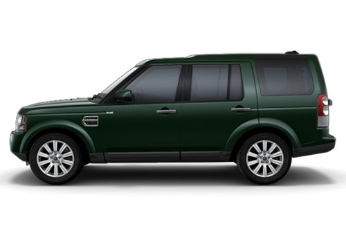 Land Rover Discovery 4 Green Metallic Color Pictures