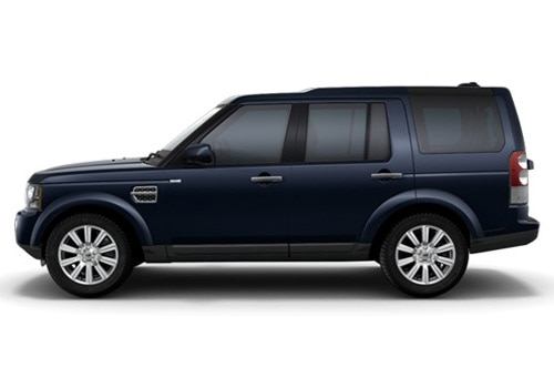 Land Rover Discovery 4 Blue Metallic Color Pictures