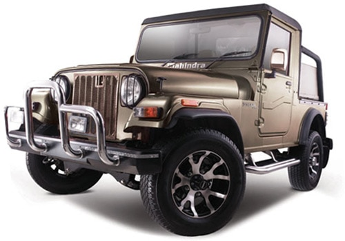 Mahindra Thar Champagne Color Pictures