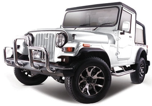 Mahindra Thar Arctic White Color Picture