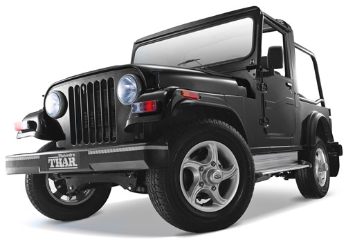Mahindra Thar  Color Pictures