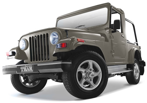 Mahindra Thar Silver Color Pictures