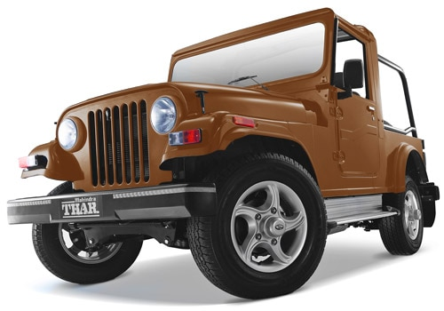 Mahindra Thar Beige Color Pictures