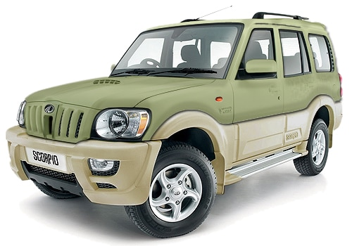 Mahindra Scorpio Beige Color Pictures