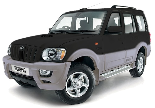 Mahindra Scorpio black Color Pictures