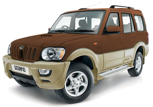 Mahindra Scorpio Brown Color Pictures