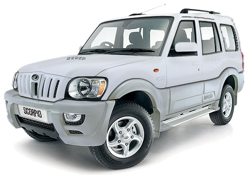 Mahindra Scorpio Silver Color Pictures
