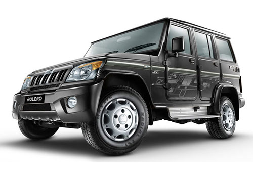 Mahindra Bolero Fiery Black Color