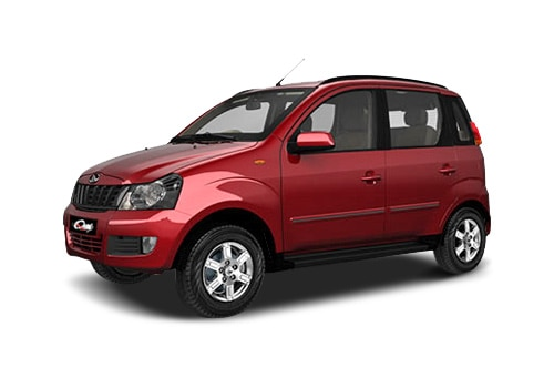 Mahindra Quanto Red Color Pictures