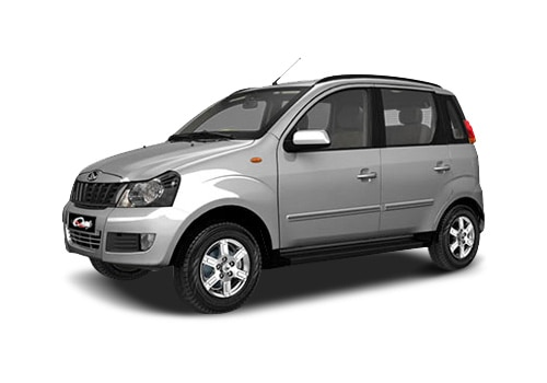 Mahindra Quanto Silver Color Pictures