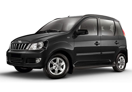 Mahindra Quanto Fiery Black Color