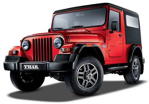 Mahindra Thar Red Rage Color