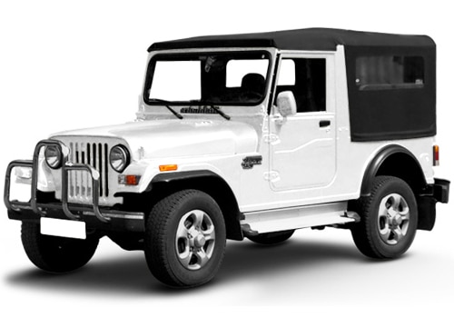 Mahindra Thar Arctic White Color