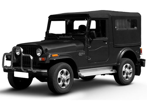 Mahindra Thar Fiery Black Color
