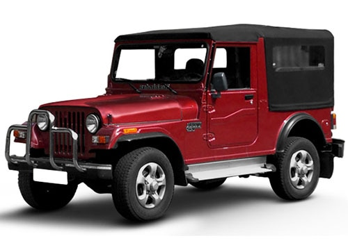 Mahindra Thar Toreador Red Color