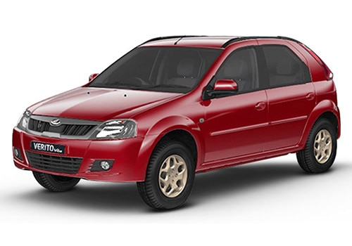 Mahindra Verito Vibe Toreador Red Color