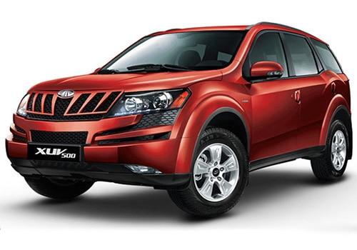Mahindra XUV500 Tuscan Red Color