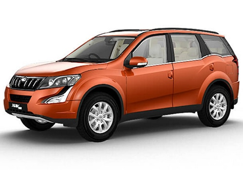 Mahindra XUV 500 Sunset Orange Color