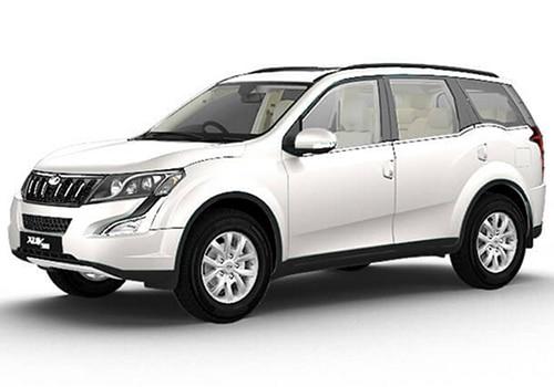 Mahindra XUV 500 Pearl White Color