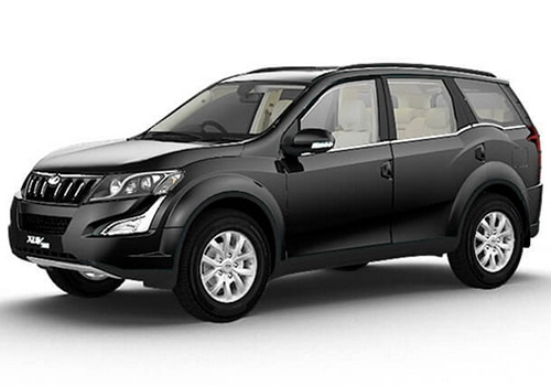 Mahindra XUV 500 Volcano Black Color
