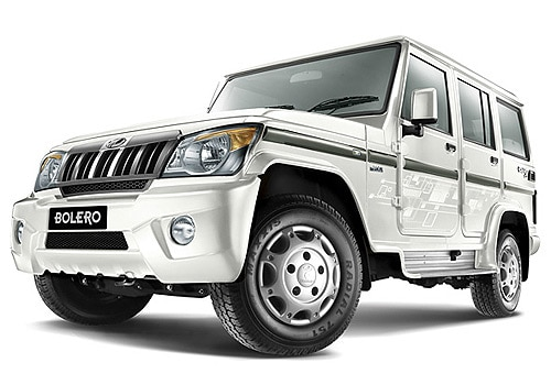 Mahindra Bolero Diamond White Color