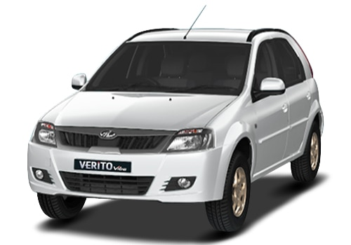 Mahindra Verito Vibe White Color Pictures