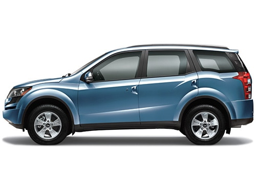 Mahindra XUV500 Blue Color Pictures