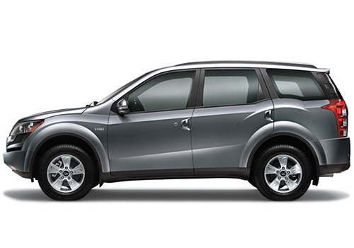 Mahindra XUV 500 Grey Color Pictures