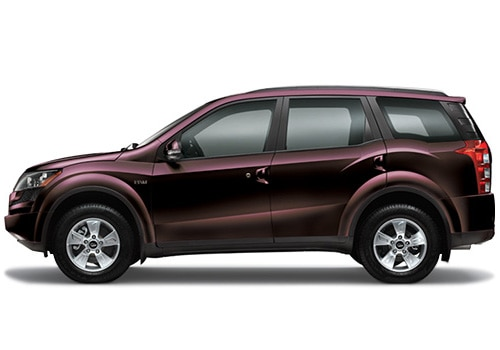 Mahindra XUV 500 Purple Color Pictures