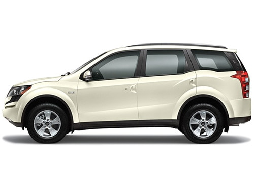 Mahindra XUV500 White Color Pictures