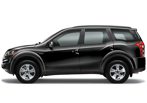 Mahindra XUV500 Black Color Pictures