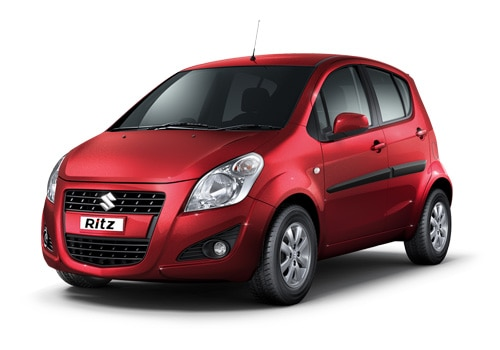 Maruti Ritz Red Color Pictures