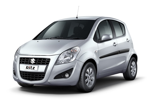 Maruti Ritz Silver Color Pictures