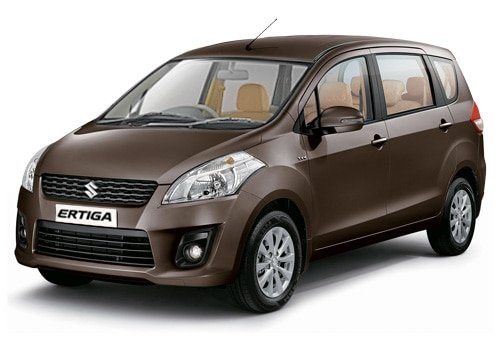 Maruti Ertiga Brown Color Pictures