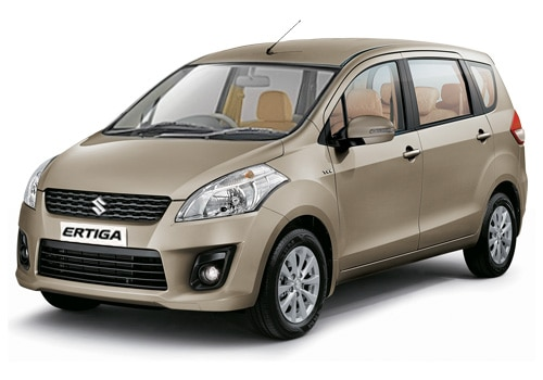 Maruti Ertiga Beige Color Pictures