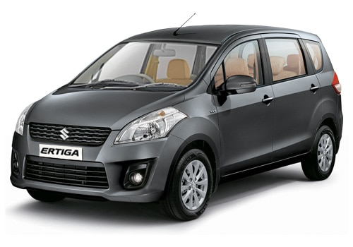 Maruti Ertiga Grey Color Pictures