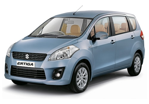 Maruti Ertiga Blue Color Pictures
