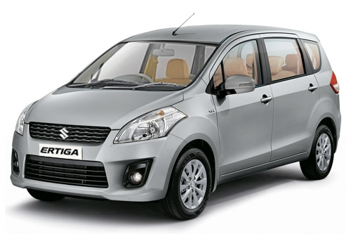 Maruti Ertiga Silver Color Pictures